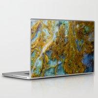 tie dye Laptop & iPad Skins featuring Tie Dye by Ian Bevington