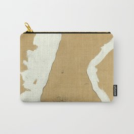 """Egon Schiele """"Female Nude with White Border"""" Carry-All Pouch"""