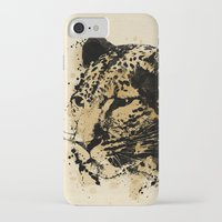 leopard iPhone & iPod Cases featuring Leopard by DIVIDUS
