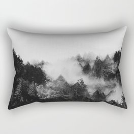 End in fire black & white (requested) Rectangular Pillow