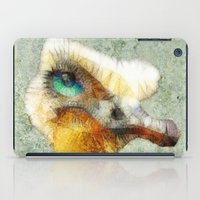 ostrich iPad Cases featuring abstract ostrich by Ancello