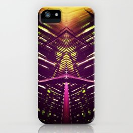 kaleidoscope palm iPhone Case