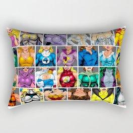 ABC's of Superheroines Rectangular Pillow