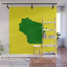 Wisconsin Football Wall Mural