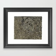Geothermal Framed Art Print