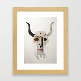 MY DEMONS ARE A PRINT #1 Framed Art Print