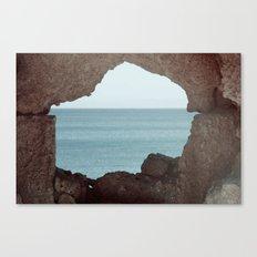 window to sea Canvas Print