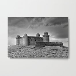 Calahorra Castle. Year 1509. Metal Print