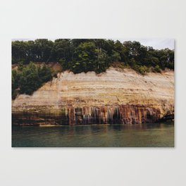 Pictured Rocks III Canvas Print
