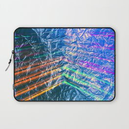 Disco Night Through Candy Wrapper Laptop Sleeve