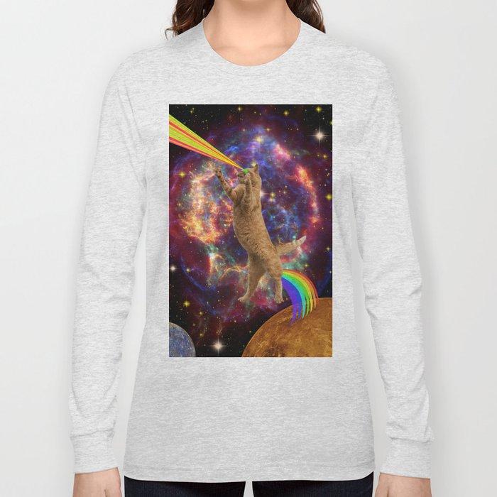 CAT SPACE  Long Sleeve T-shirt