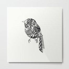 Li'l bird Metal Print