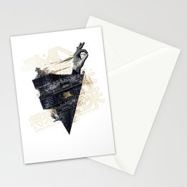 Back on the train Stationery Cards