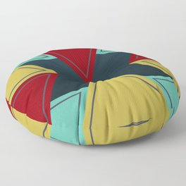 Angled Tribes Floor Pillow