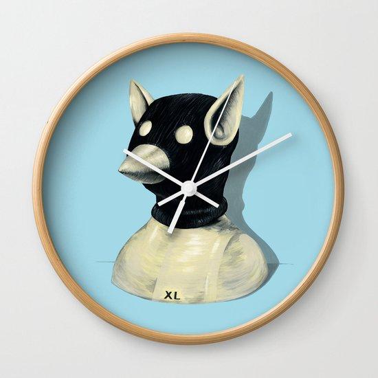Bandit Hat Wall Clock