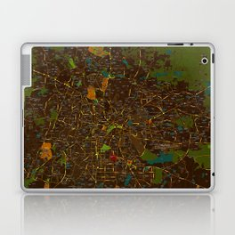 Bangalore old green map Laptop & iPad Skin