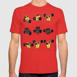 OLYMPIC LIFTING PUG T-shirt