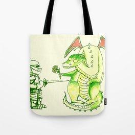 Good v.s. Evil? Tote Bag