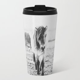 WILD HORSES IV / Iceland Travel Mug