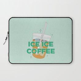 Ice Ice Coffee Laptop Sleeve