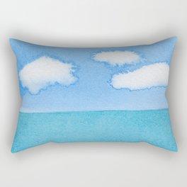 The Three Cloud Amigos Rectangular Pillow