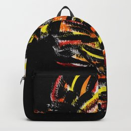 The Devil Painting Acrylic on Paper Backpack