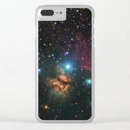 Flame and Horsehead Nebulae Clear iPhone Case