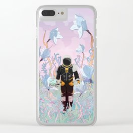 Collecting Samples Clear iPhone Case