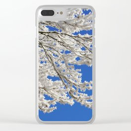 Hoarfrost 2 Clear iPhone Case