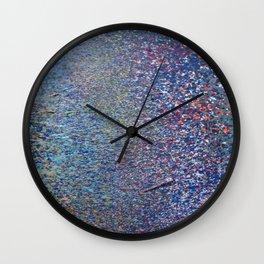 Summer Meets Autumn Wall Clock