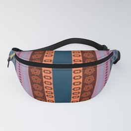 Ethnic Andean Peruvian Textile Pattern Fanny Pack