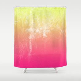 Flaming Forest Shower Curtain