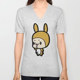 The Rabbit KURI Unisex V-Neck