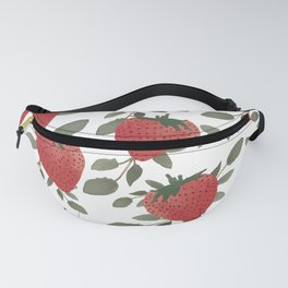 Tropical Strawberries Fanny Pack