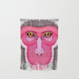 Japanese Macaque Wall Hanging