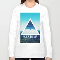 bastille Long Sleeve T-shirts featuring BASTILLE by Hands in the Sky
