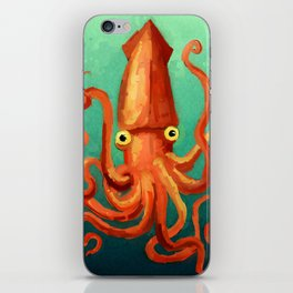 Giant Squid iPhone Skin