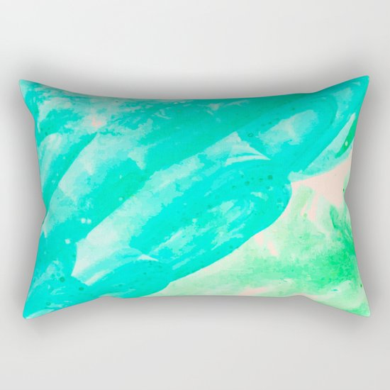 Tropical Souvenir #society6 #decor #buyart Rectangular Pillow