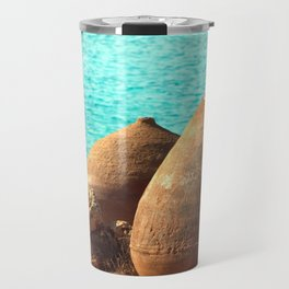 sea shore. Cyprus Travel Mug