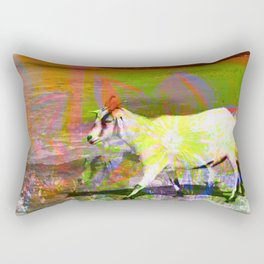 goat flower Rectangular Pillow