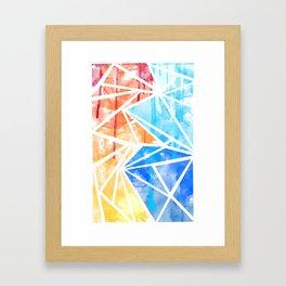 Hot & Cold Framed Art Print