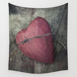 Trapped Heart III Wall Tapestry