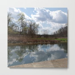 Oh to reflect Metal Print
