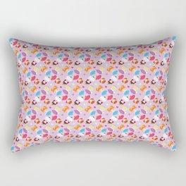 Polly Pocket Pattern Rectangular Pillow