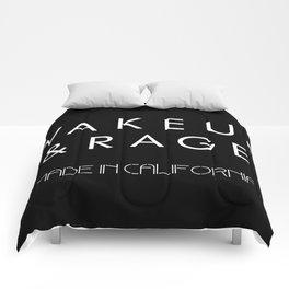 WAKE UP AND RAGE Comforters