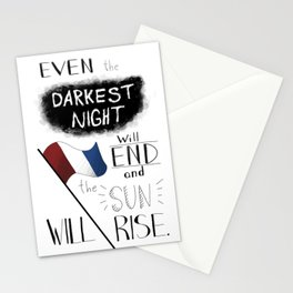 All Men Will Have Their Reward Stationery Cards