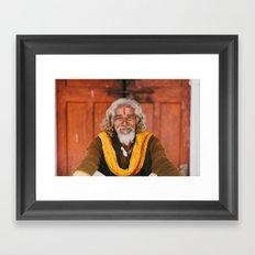 Kind Eyes Framed Art Print
