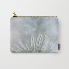 pine needles in blurry green shades Carry-All Pouch