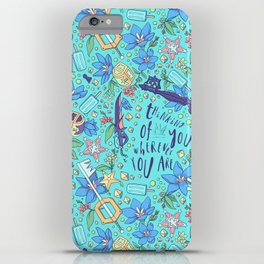 Kingdom Hearts Floral iPhone Case