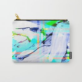 Oil Paint with Squares Carry-All Pouch